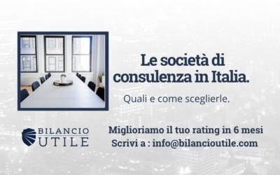 Le società di consulenza in Italia. Quali e come sceglierle.