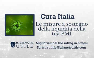 Decreto Cura Italia. Ecco le misure a sostegno della liquidità.